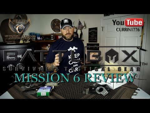 "BattlBox Review Mission 6 August 2015 ""Year of the BattlBox"""