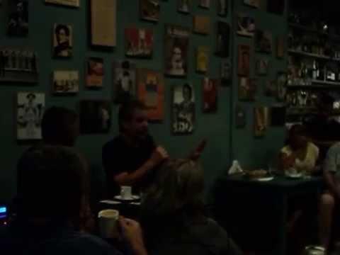 Sergio Burstein en el Café de Los Patriotas
