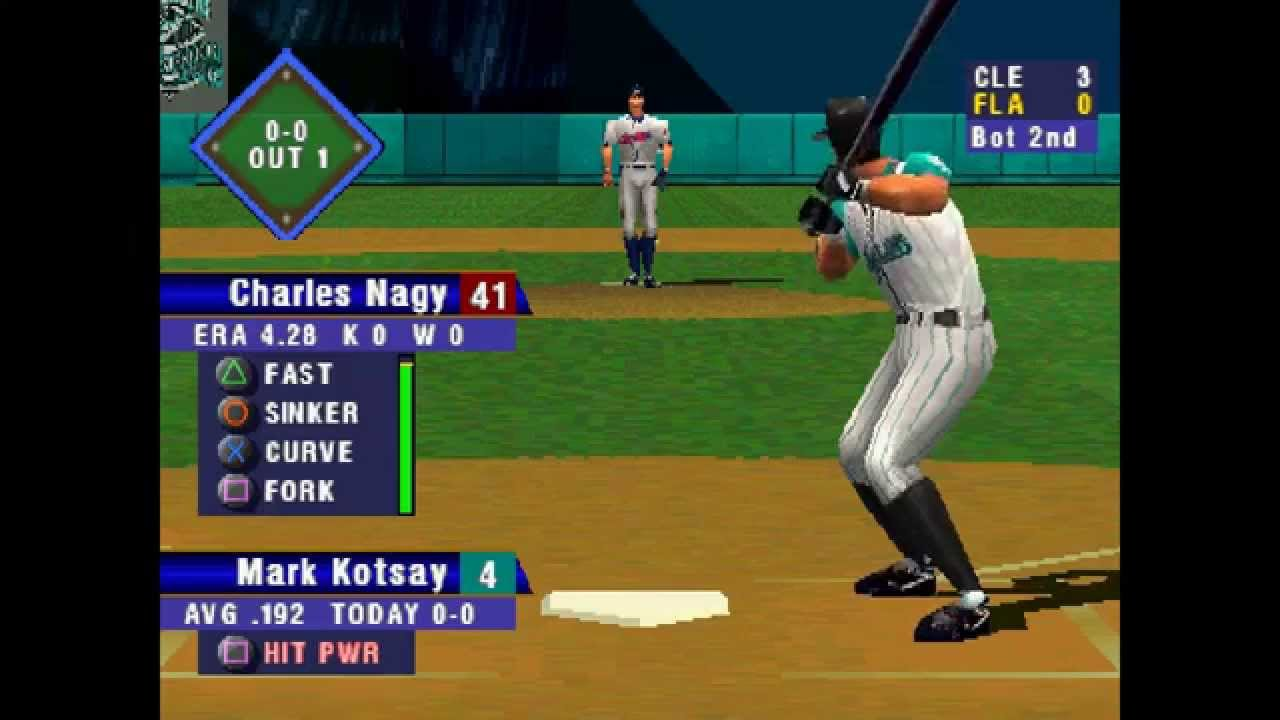 Download MLB 99 ... (PS1) Gameplay