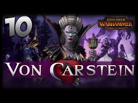 THE POWER OF DARKNESS! Total War: Warhammer - Von Carstein Campaign #10