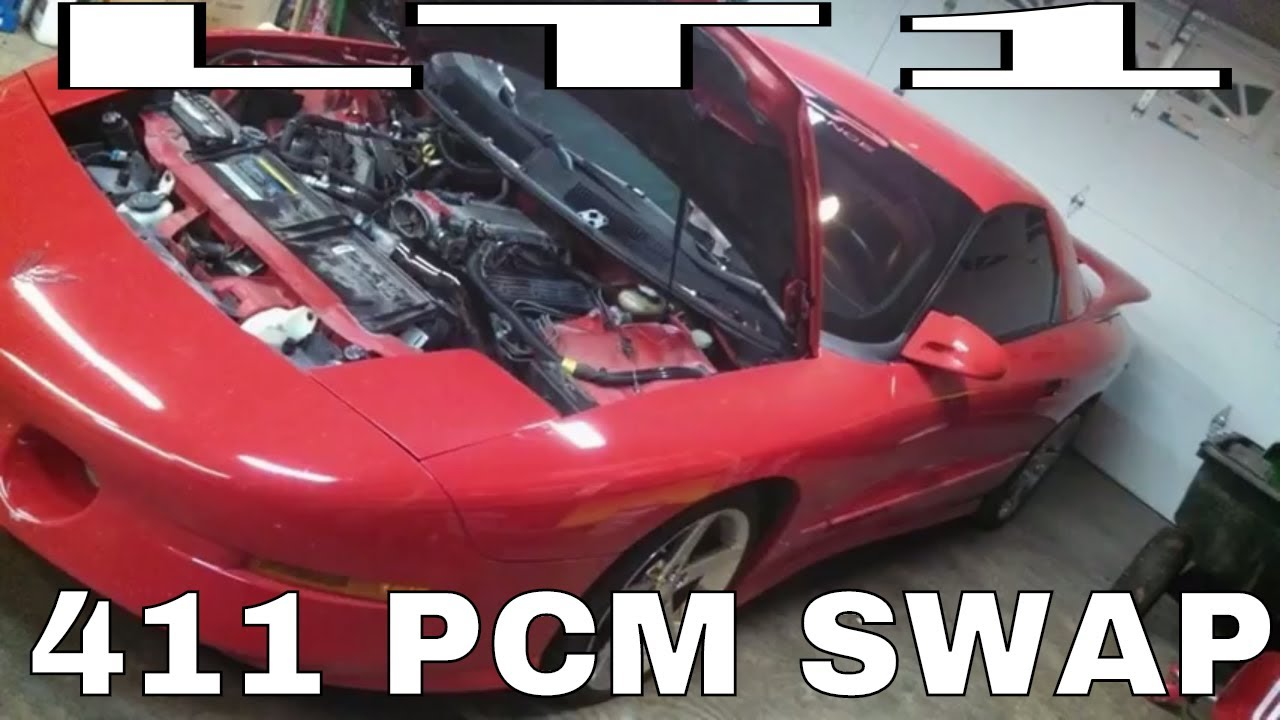 LT1 411 LS1 pcm swap part 2 Timing cover reluctor wheel install