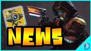 Destiny 2 NEWS - HIDDEN EXOTICS & EVENTS! New Ghost Shell, Saint-14 & MORE!