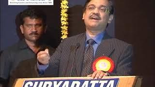 Adv. Sanjay Nikam, was invited at Suryadatta National Award 2010