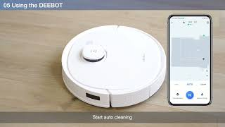 DEEBOT T9 series - How to Use