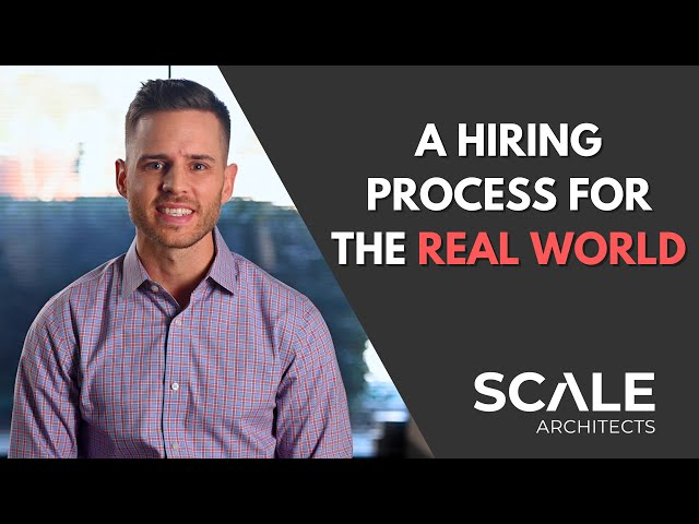 A hiring process made for the real world