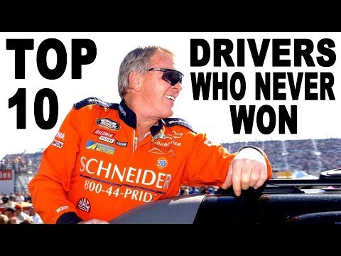 Top 10 NASCAR Drivers Who Never Won a Cup Race