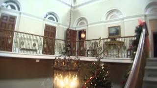 Basildon House - Downton Abbey Filming Location Christmas 2013.