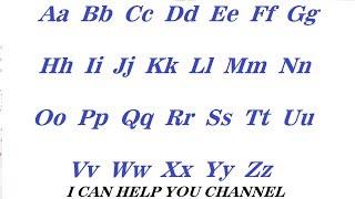 Английский алфавит English Alphabet Урок / Занятие № 1