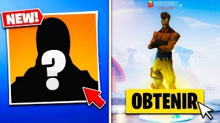"FINALLY DISPONIBLE for ALL THE WORLD ""THE SKIN CACHÉ"" BIG FROID finally REVEALED on FORTNITE! 😱"