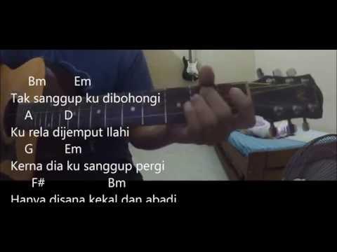 cara main gitar Ku Rela Dibenci - Aiman Tino (chords + lirik + cover)