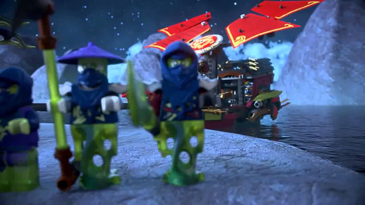 Конструктор Лего Ниндзяго (Lego Ninjago) Летающий Охотник 70720 .