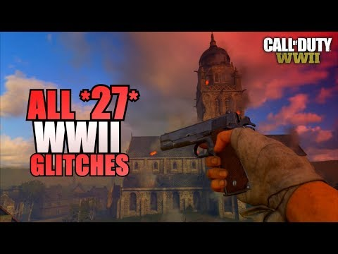 COD WW2 - ALL *27* WORKING MULTIPLAYER GLITCHES (Secret Rooms/Jumps/Spots | Best WWII Glitches
