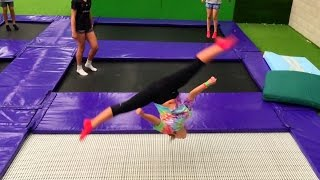 Video TRAMPOLINE PARK FUN W/ FRIENDS! download MP3, 3GP, MP4, WEBM, AVI, FLV Desember 2017