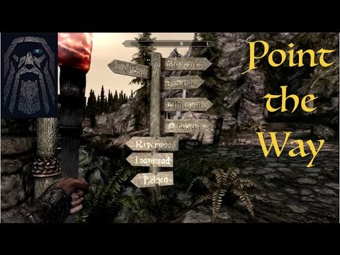 Skyrim SE Point the Way Mod