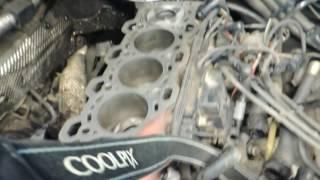 BMW 730D E65 3.0D M57 Ремонт двигателя и ТО Часть 2
