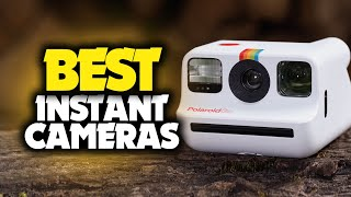 Best Instant Cameras in 2021 - Get Photos Instantly In Your Hand!