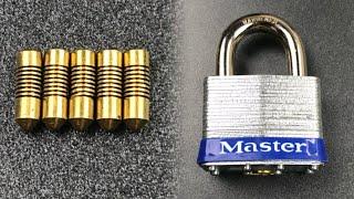 "[656] Master Lock's Unusual ""Universal Pin"" Mechanism"