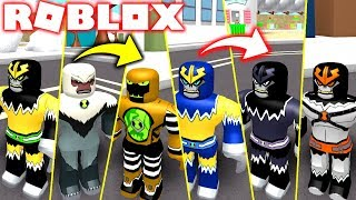 ROBLOX BEN 10 ! UN EVOLU-O DO SHOCKSQUATCH SUPREMO E ULTIMATE - BEN 10 JUEGOS DE LUCHA