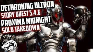 Act 5.4.6. Ultron Classic Boss Takedown Proxima Midnight Option MCOC
