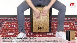 MEINL Percussion - MEINL Percussion - Vertical Subwoofer Cajon - SUBCAJ6MB-M