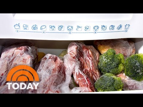 How long can you keep food in a deep freezer