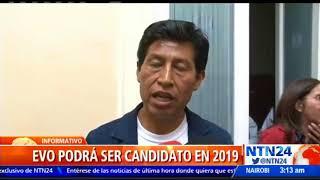Tribunal Constitucional de Bolivia autorizó repostulación de Evo Morales a las próximas elecciones 2017 Video