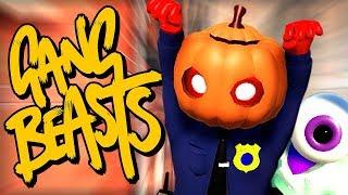 BEWARE THE PUMPKIN POLICEMAN! - FULL RELEASE / 1.0 IS HERE! - Gang Beasts Gameplay