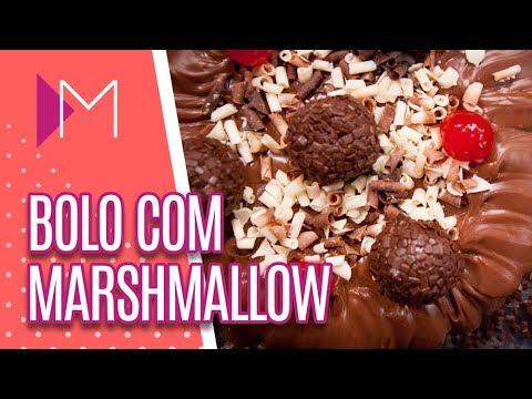 Bolo recheado com Marshmallow - Mulheres (13/09/18)