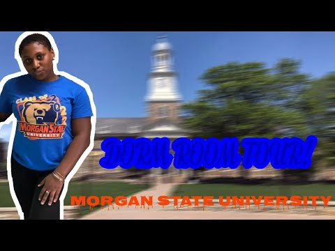 DORM ROOM TOUR 2018 | Morgan State | Oriana Lachae'