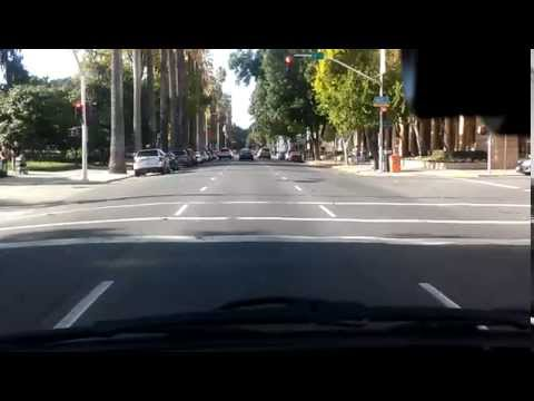 Driving in downtown Sacramento California