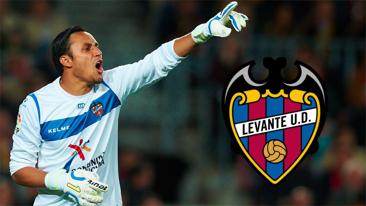 Keylor Navas Best Saves in La Liga Levante UD