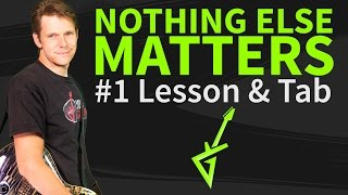 How To Play Nothing Else Matters On Guitar - Metallica Guitar Lesson