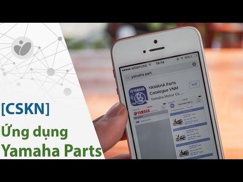 [CSKN] - Dò mã phụ tùng xe Yamaha bằng App trên điện thoại