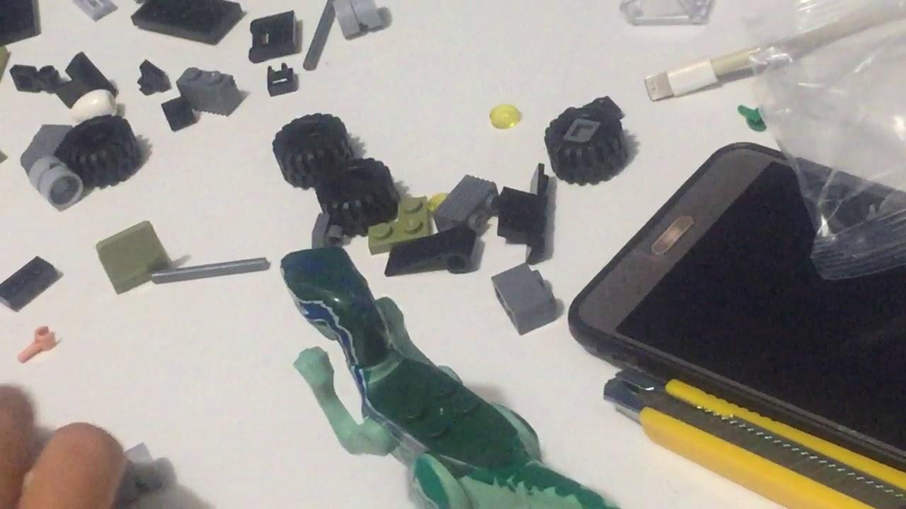Thử thách ráp bộ đồ chơi Lego