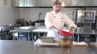 How To Brine And Roast A Whole Chicken - Cooking Tips : How To Brine A Whole Chicken w/ Jeff Hyatt.