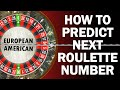 How To Predict Roulette Number