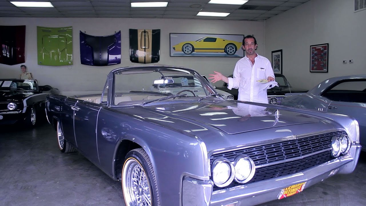 1962 Lincoln Continental Convertible for sale with test drive ...