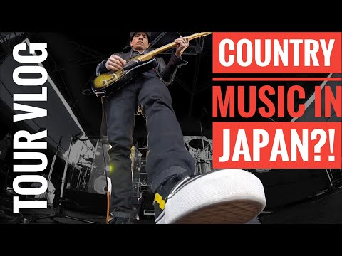 Playing Country Music in...Japan?! (PART 1/4)  | Life On The Road | Touring Musician | Travel Vlog