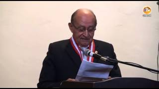Dr.  OSCAR SALINAS ZEGARRA ES DISTINGUIDO COMO PROFESOR EMÉRITO
