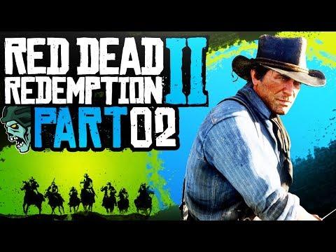 """Red Dead Redemption 2 - Part 2 """"JOHN"""" (Gameplay/Walkthrough)"""