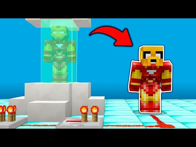 MIKE SE TRANSFORMA EN IRONCRACK 😍😱 MINECRAFT TYCOON