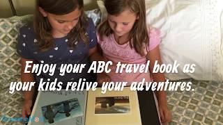 How to Use Your Travel Photos to Create An ABC Photo Book