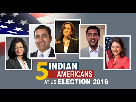 Meet the 5 Indian-American Candidates at US Election 2016 | A proud moment for India