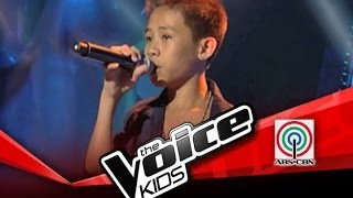 "The Voice Kids Philippines Blind Audition ""Mula sa Puso"" by Junmark"