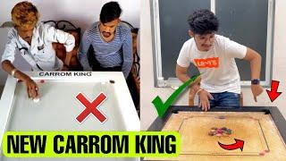 I Am New Carrom King 😱 Expectation versus reality 😂 #shorts