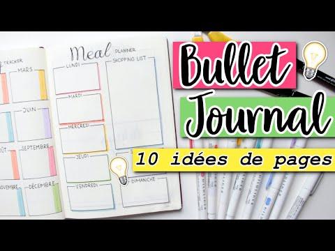 • Bullet Journal: