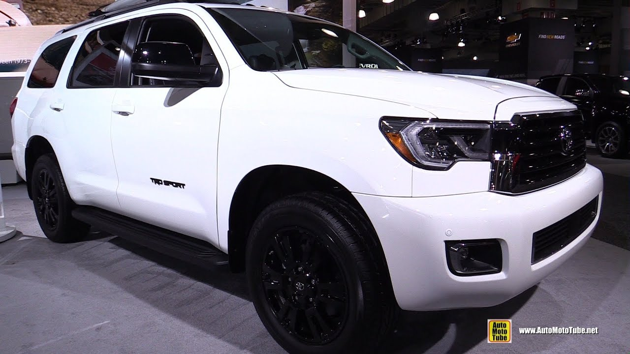 2019 Toyota Sequoia Trd Sport Exterior And Interior Walkaround