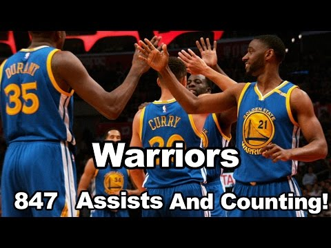 Warriors Have 186 Assists More Than The Next Closest Team!