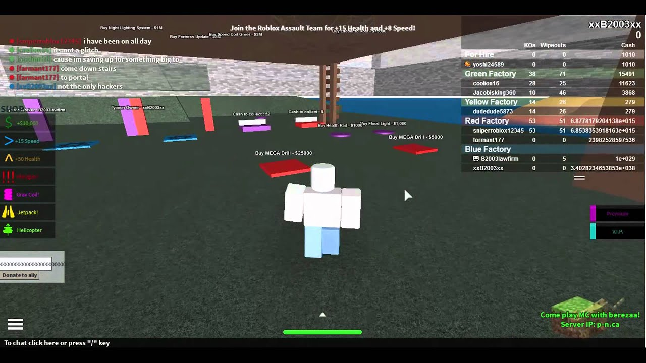 2Pgft roblox money hack 2 player gun factory tycoon patched!
