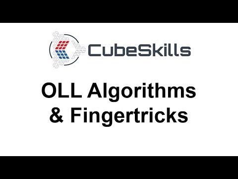 OLL Algorithms & Fingertricks [From CubeSkills]